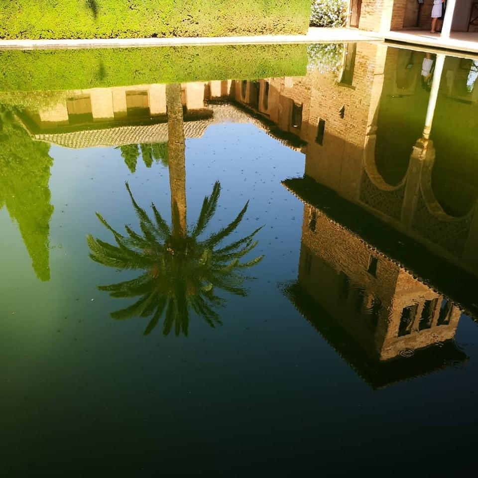 I riflessi dell'Alhambra
