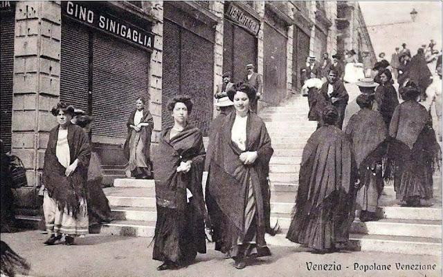 Lo scialle veneziano e il mantón de Manila