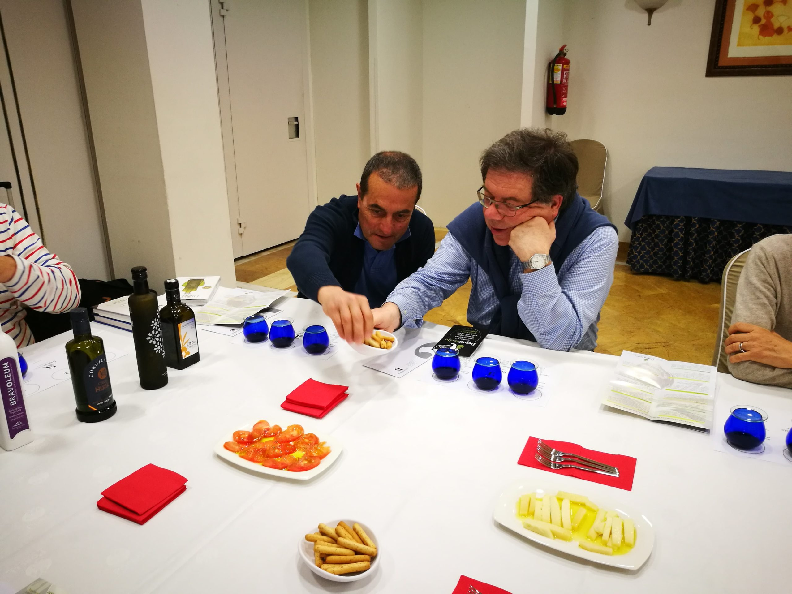 Lorenza Spolaore - Degustazione di olio d'oliva